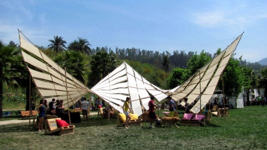 Bamboo paraboloide