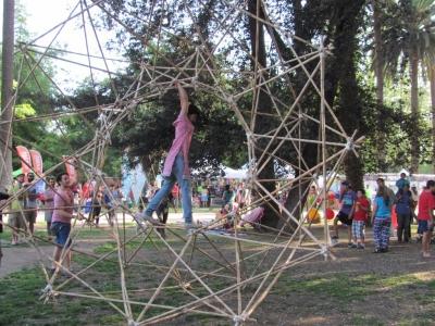 bamboo wheel